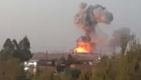Suriye'de Teröristlere Ait Büyük Bir Silah Deposu Yok Edildi