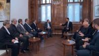 İran Heyeti, Suriye Cumhurbaşkanı Beşar Esad İle Görüştü