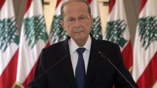 Lübnan Cumhurbaşkanı: Füze veya bomba ile vurulmuş olabilir