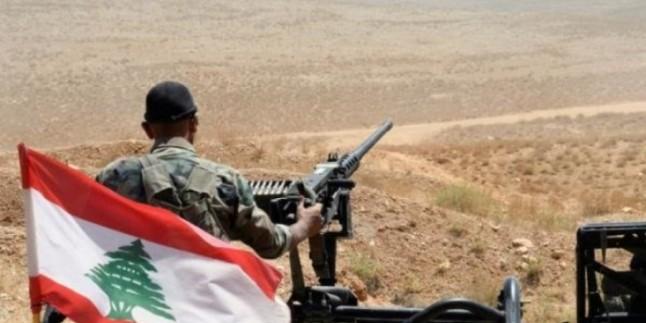 Lübnan Ordusundan Teröristlere Operasyon
