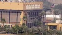 Bağdat'ta ABD Büyükelçiliği yakınlarına füzeli saldırı