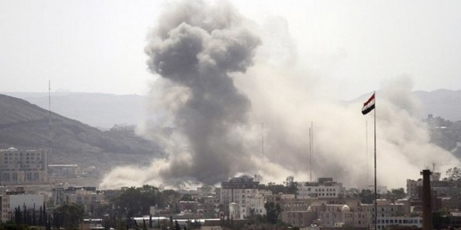 Suudi hava saldırısında 4 Yemenli Şehit Oldu