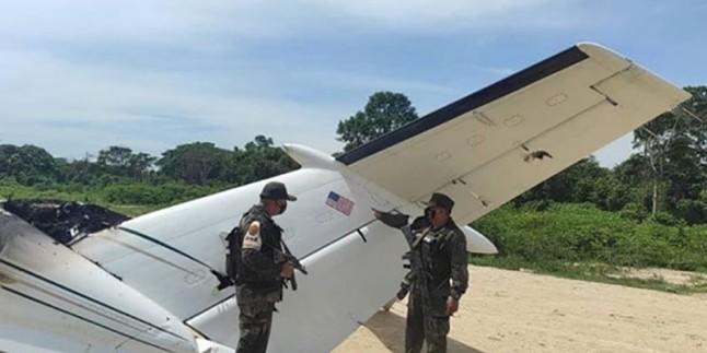 Venezuela, ABD uçağını düşürdü