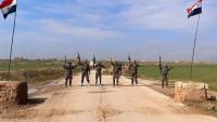 Suriye Ordusu İdlib Kırsalı Sınırlarında Yer Alan Bir Köyü İşgalden Kurtardı