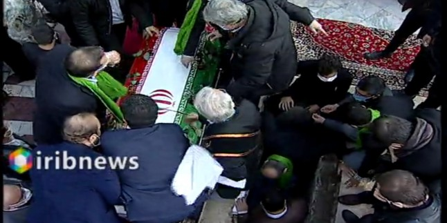 Şehit Fahrizade'nin pak naaşı cenaze töreninin ardından toprağe verildi