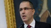Venezuela Dışişleri Bakanı Jorge Arreaza, Fransa, Almanya, Hollanda ve İspanya'ya nota verdiklerini açıkladı