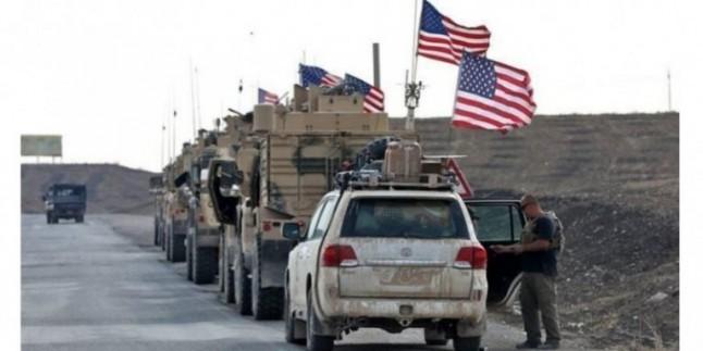 Kuzey Irak'taki ABD Terör Ordusu lojistik konvoyuna saldırı