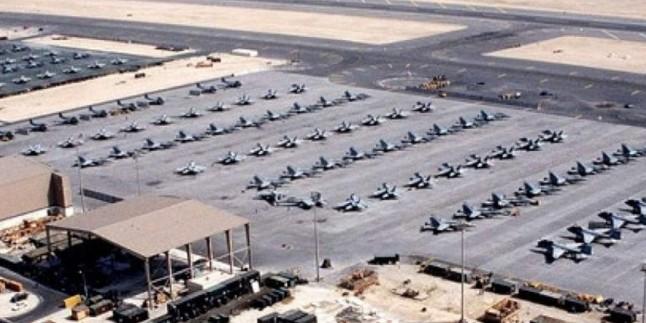 Büyük Şeytan ABD'nin Irak'ın Beled Şehrindeki Askeri 4 Adet Grad Füzesiyle Vuruldu