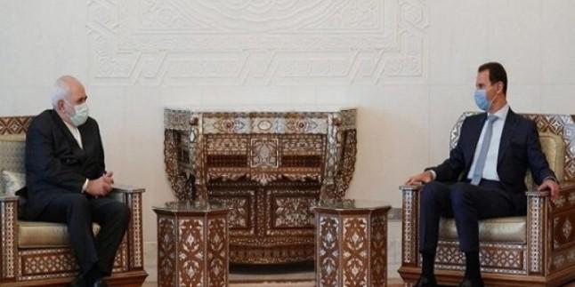 Zarif ve Beşar Esad Kudüs'ü Görüştü