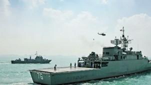 İran Donanması ilk kez Atlas okyanusunda