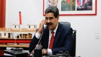 Maduro'nun Reisi ile telefon görüşmesi