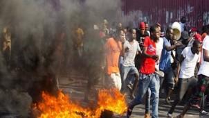 ABD heyeti Haiti'den kaçmak zorunda kaldı