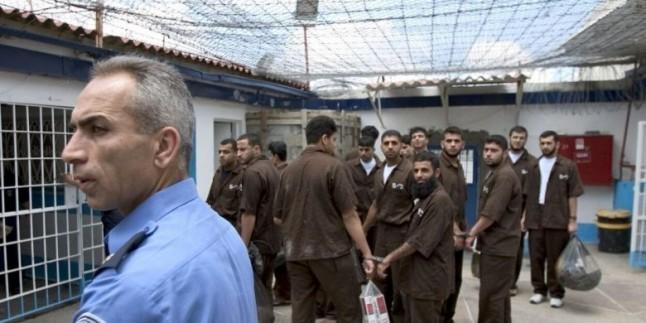 Siyonist İsrail hapishanelerinde 14 Filistinli esir ölüm tehlikesi ile karşı karşıya