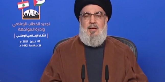 Seyyid Hasan Nasrullah: IŞİD'in kuruluş amacı Filistin'in unutulmasıydı