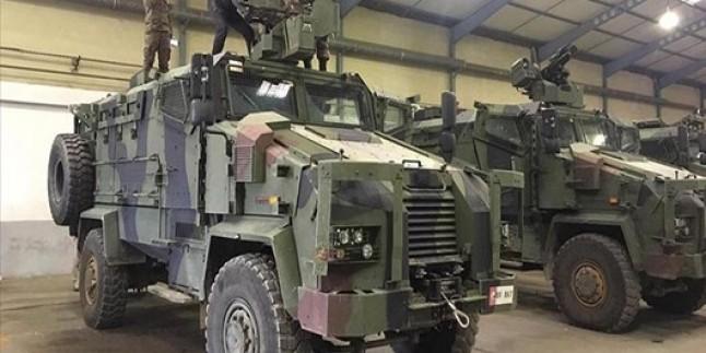 Türkiye, Somali'ye 22 zırhlı araç hibe etti