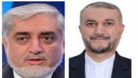 Abdullah Abdullah, Tahran'ın Afgan halkını savunmadaki konumunu takdir etti