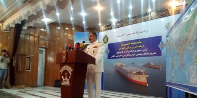 Amiral İrani: Yaptırımlara rağmen büyük kazanımlar elde ettik