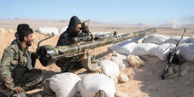 Suriye ordusunun İdlib'de Nusra cephesi teröristlerine saldırısı