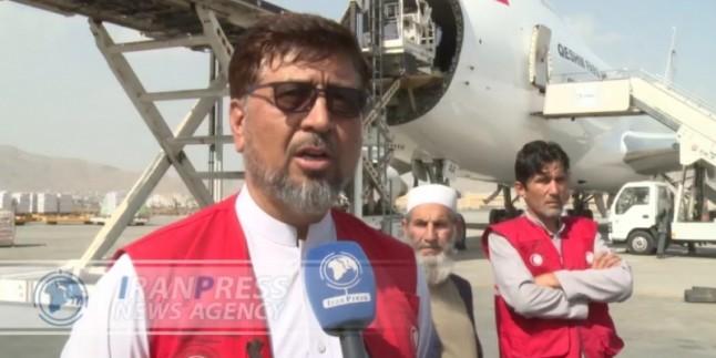 Afganistan İran'ın insani yardımlarına teşekkür etti