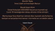 Üstad Hizbullah HAKVERDİ Hocamızın kıymetli eşi ahirete irtihal etti