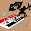 Karikatür: IŞİD, Suriye'de kapana kısıldı