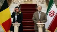 İran Meclis Başkanı, Belçika Meclis Başkanıyla Görüştü
