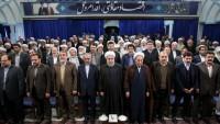 Foto: İran Cumhurbaşkanı Ruhani, Ehl-i Sünnet alimeleriyle görüştü