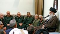 Mazlum ve Mustazafların Rehberi, Silahlı Kuvvetler Komutanlarıyla Görüştü