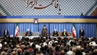 İmam Seyyid Ali Hamanei: Hiçbir seçim adayı gözlerini sınırların ötesine dikmesin