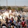 Doğu Kudüs'teki çatışmalardan görüntüler