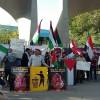 Tahran'da Mescid-i Aksa'ya yönelik ihlaller protesto edildi