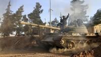 Suriye Ordusu Halep Kırsalında Teröristlere Ağır Darbe Vurdu