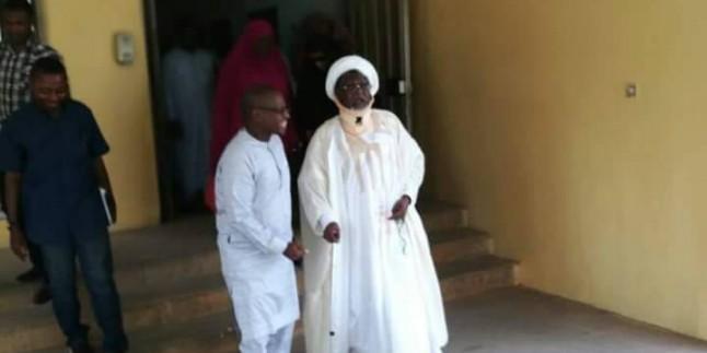 Nijerya Hizbullahı Lideri Şeyh Zakzaki, 2 Yıl Aradan Sonra Kameraların Karşısına Çıkartıldı