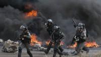 """FOTO: Filistin'de """"Büyük Felaket Günü"""" gösterisi"""