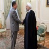 Ruhani, Kuzey Kore Dışişleri Bakanı'nı kabul etti