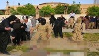 IŞİD militanları çatışmadan kaçan 7 IŞİD'liyi kaynar kazana attı