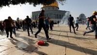 Mescid-i Aksa Avlusundaki Çatışmalarda 113 Kişi Yaralandı