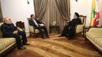 Ensari, Seyyid Hasan Nasrullah ile görüştü