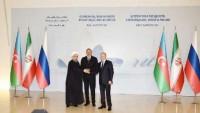 Rusya, İran ve Azerbaycan liderleri ortak bildiri yayınladılar