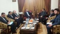 Abdullahiyan, İslami Cihat ve Hamas üst düzey yetkilileri ile görüştü