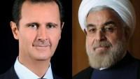 Ruhani: İran milleti Suriye milletinin yanında yer almaktadır
