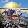 50 Bin Filistinli Mescidi Aksa'da Cuma Namazı Kıldı.