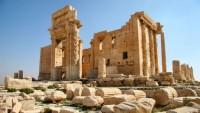 Suriye ordusu Palmira'da ilerliyor
