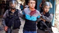 Siyonist İsrail güçleri el'Halil'de Filistinlilere saldırdı