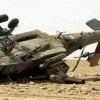 Suudi rejimi helikopteri düşürüldü