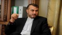 Emir Abdullahiyan: Hizbullah'ın terörist nitelenmesi bölgenin yararına değil