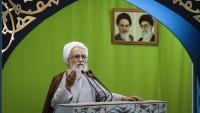 Tahran Cuma Hatibi: Amerika, dünyada bir çok cinayetin başlıca sebebidir