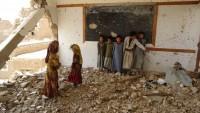 Suudi Rejimi Yemen'de Tekrar Okul Ve Yerleşim Bölgesi Vurdu