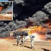 Irak hava kuvvetleri, IŞİD'in yakıt tankerlerini imha etti