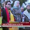 ABD'li kadınlardan müslüman kadınlara destek